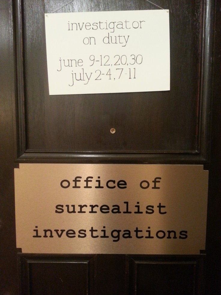 office of surreal signage